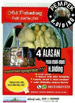 pempek H Diding Asli Palembang